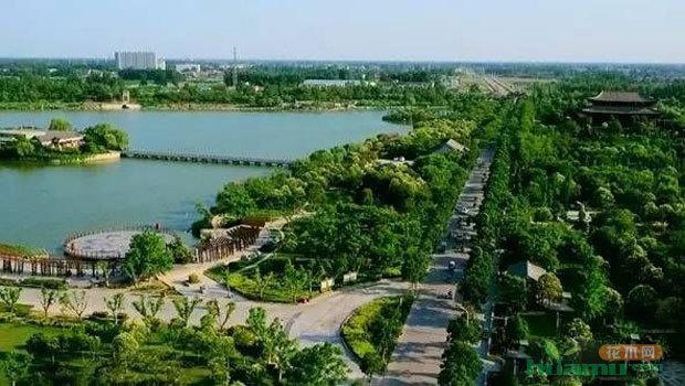 县(市)达到国家园林城市(县城)标准,70%以上的省辖市达到国家森林城