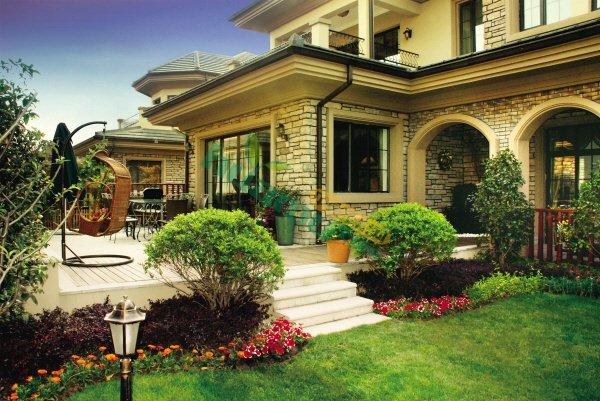 别墅绿化种植