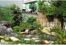 佳木斯室内外假山喷泉鱼池