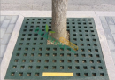 市政橡胶护树板树池盖板,树篦