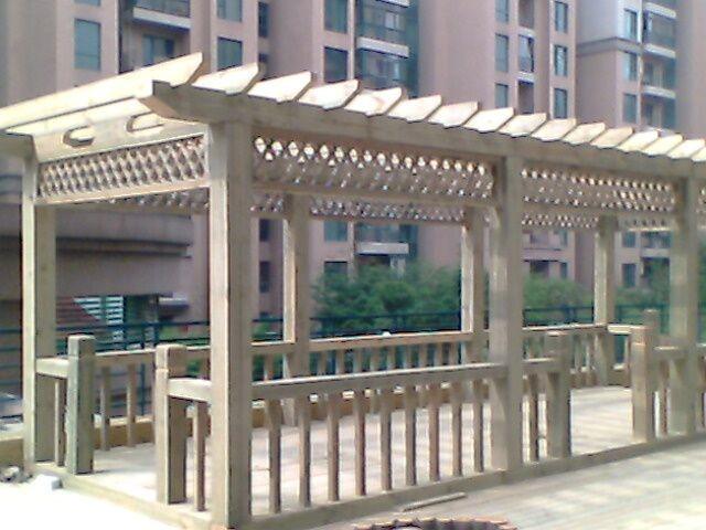 国外进口防腐木材
