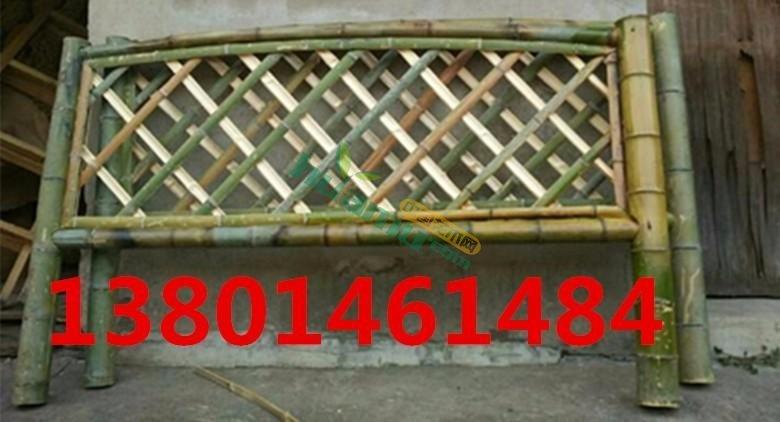 定制竹篱笆 竹栅栏 篱笆栅栏 围栏 园林围栏 菜园篱笆 庭院篱笆