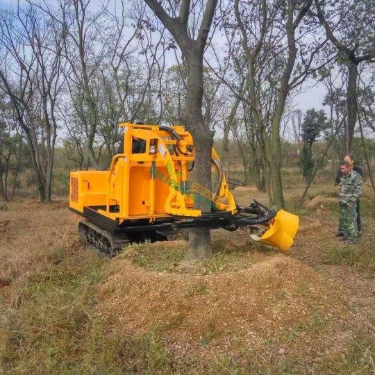 三普挖树机器带土球 挖大树挖树机器 我爱发明推荐起树机