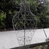 编织花瓶框架