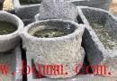 出售石磨牛槽水景