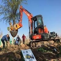 常青挖樹機 瓣式移樹機帶主根出樹機 四鏟式移樹機