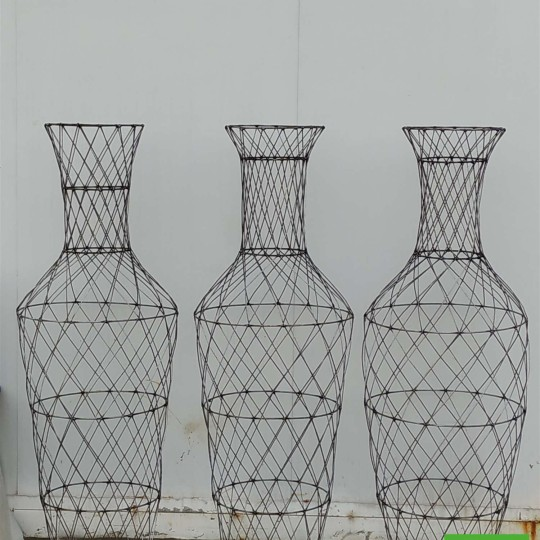 编制造型花瓶